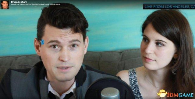 因戏生情  《底特律:变人》 康纳与崔西宣布订婚