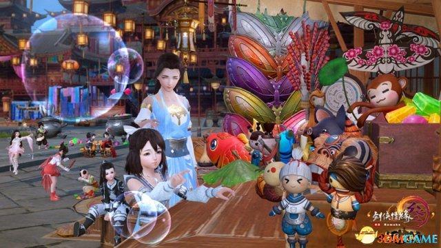 梦回童年 《剑网3》6月1日全民飞机大战上线!