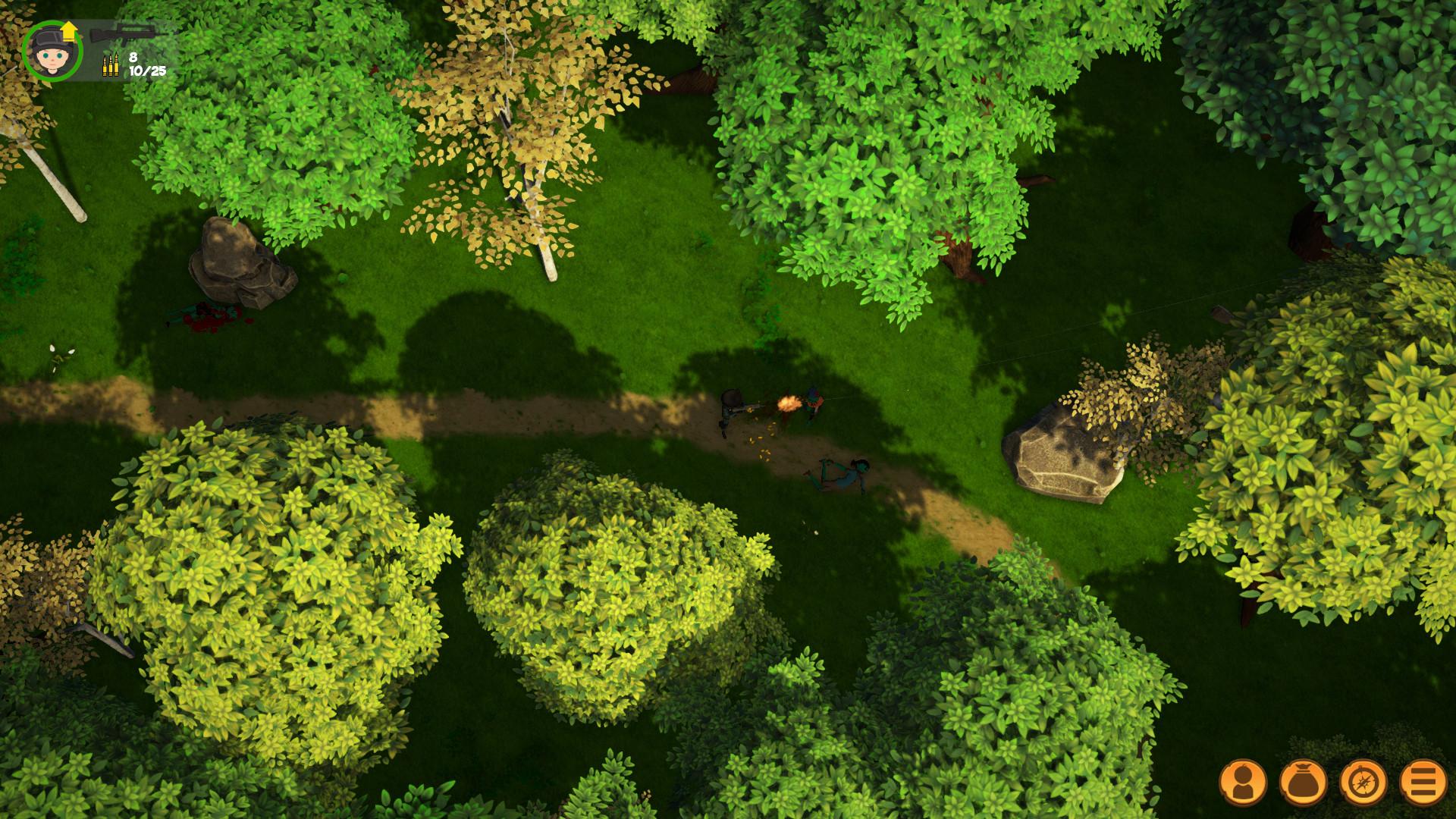 僵尸丛林2 游戏截图