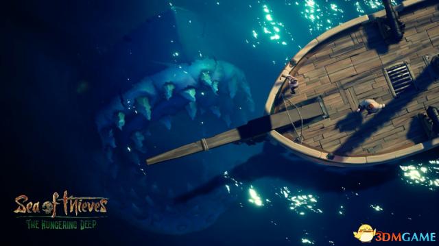 巨鲨拉冬来了! 《盗贼之海 : 饥饿深渊》正式上线