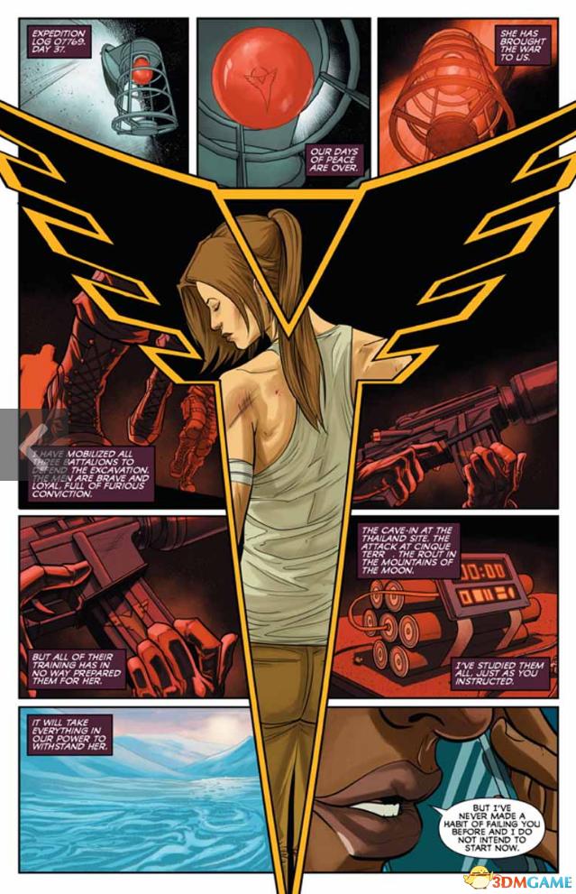 《古墓丽影:地狱》 预览 劳拉面对狡猾圣三一