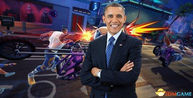 《功夫鲨鱼》的DLC有点怪:扮演奥巴马殴打侃爷