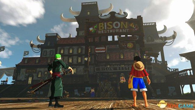 《海贼王:世界探索者》监狱岛截图