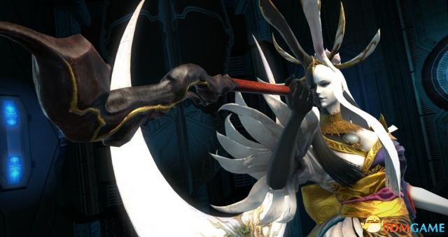诡异美形 《最终幻想14》 4.3月下之华最新蛮神公开
