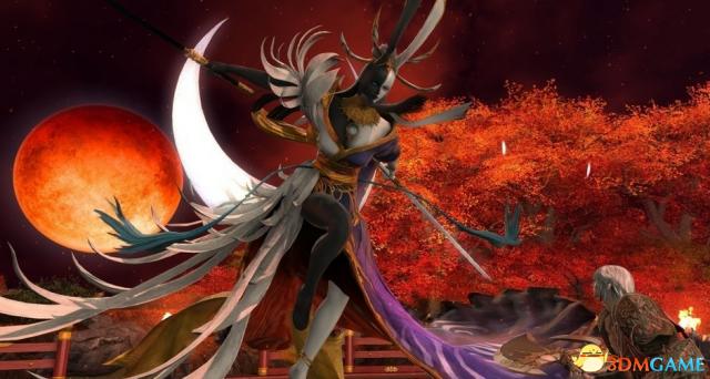 詭異美形《最終幻想14》4.3月下之華最新蠻神公開
