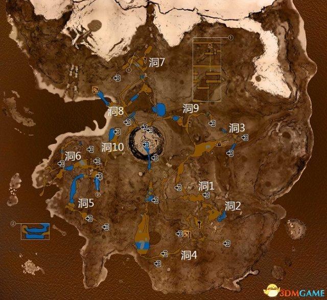 森林全武器获得位置地图及合成材料一览
