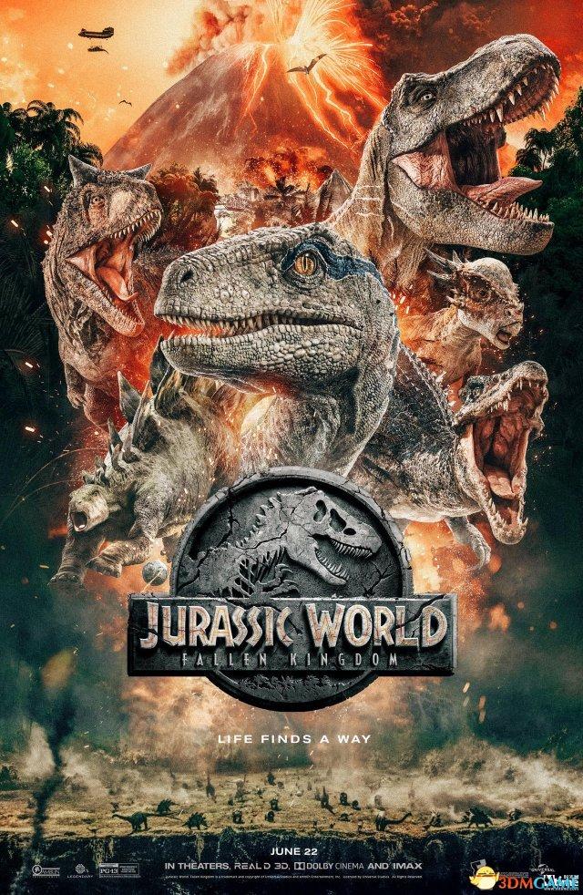 《侏罗纪世界2》曝新海报