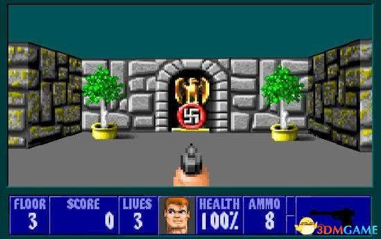 德军总部3D 1993年发售