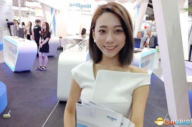 2018台北国际电脑展Show Girl美图 靓丽身影吸睛