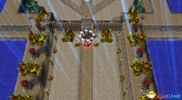 魔兽争霸3 v1.24火线对垒III邪灵要塞v1.9