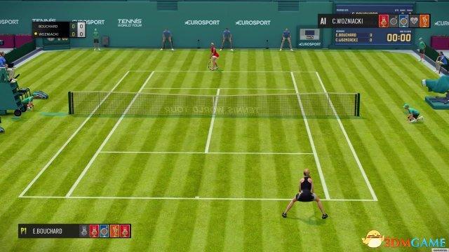 《网球世界巡回赛》演示视频 没做完就上市的游戏