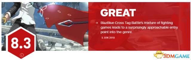 《苍翼默示录:交叉组队战》IGN 8.3 魅力十足
