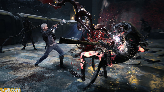 E3 2018:《鬼泣5》中文预告 生化7引擎打造新作