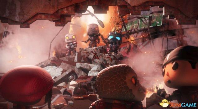E3:手游《戰爭機器POP!》公布 2019年發售