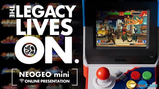 SNK NEOGEO mini游戏机网络发布会视频