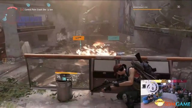 E3 2018:《全境封锁2》新演示 和小伙伴一起狂射