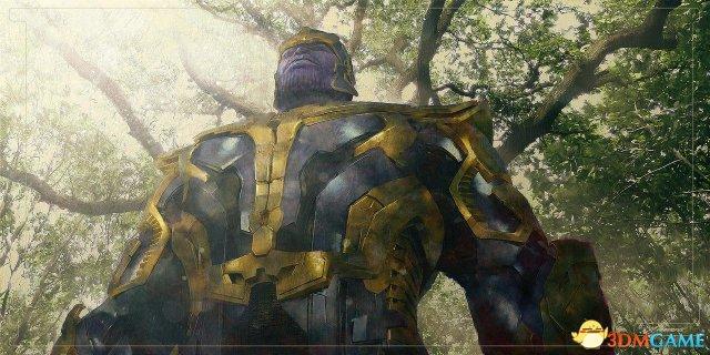 《复仇者联盟3》概念图欣赏 灭霸霸气降临瓦坎达