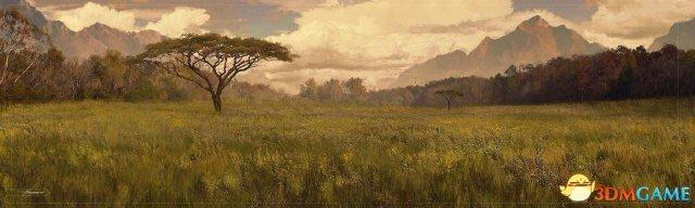《复仇者3》概念图欣赏 灭霸霸气降临瓦坎达