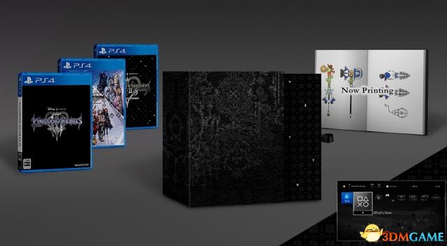 E3 2018:《王国之心3》新豪华购入特典详情公开