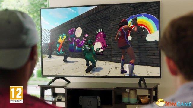 E3:全平台吃鸡 《堡垒之夜》登陆任天堂Switch