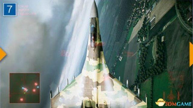 《皇牌空战7:未知空域》新截图 天气特效真实自然