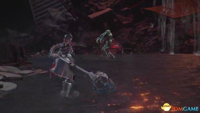 E3:《血之暗号》全新战斗演示 女Boss大长腿吸睛