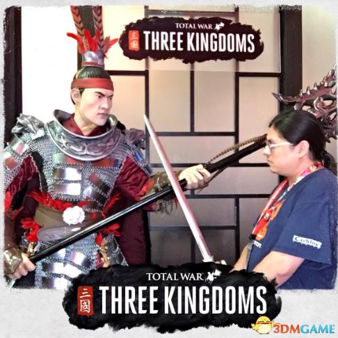 E3:《全面战争:三国》吕布人气高 老外抢着合影