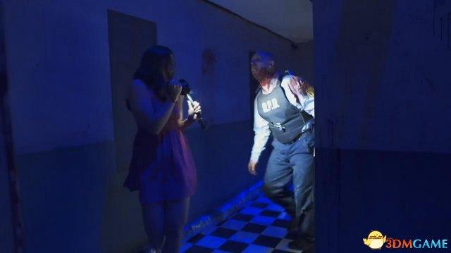 E3:IGN美女主持探访 《生化危机2》 重制版展区吓尿