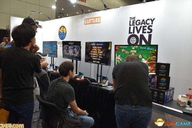 情怀很重要!话题NEOGEO mini机E3大展现场直击