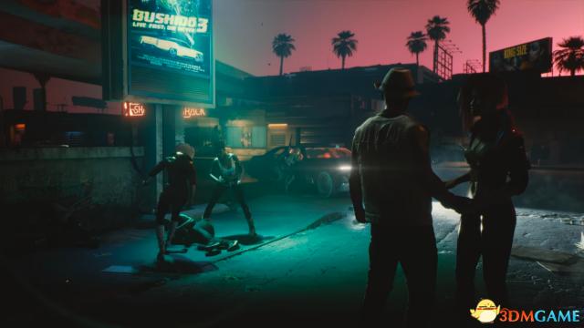 《赛博朋克2077》艺术原画与预告对比 还原度爆表
