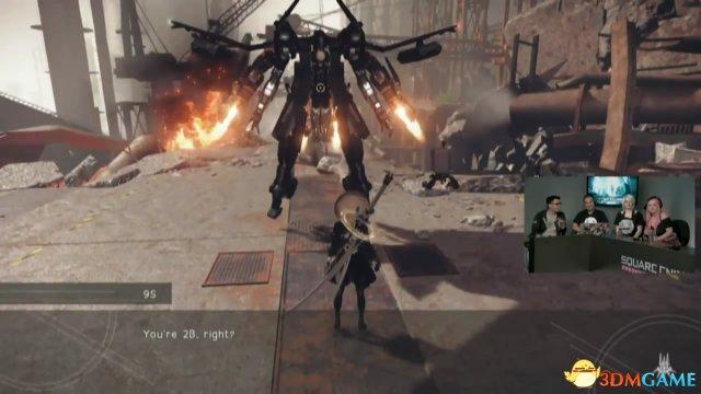 丝般润滑!《尼尔:机械纪元》Xbox One版演示