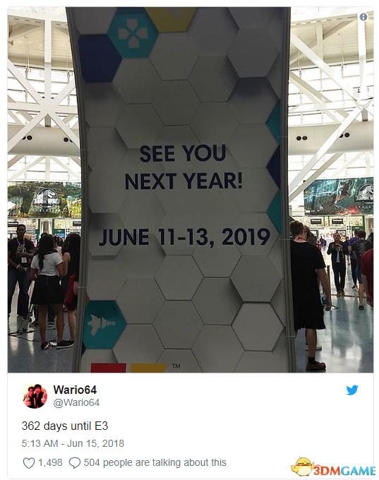 E3 2019展会日期确定