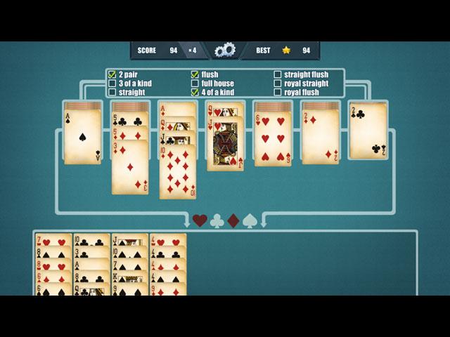 扑克接龙 游戏截图
