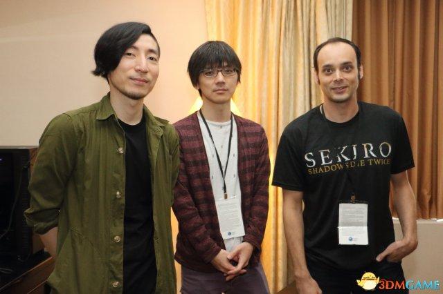 左起北尾泰大、Yamamura Masaru、羅伯特‧康奇