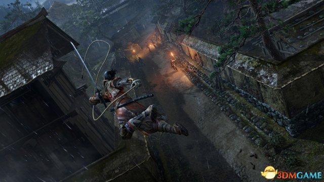 鉤繩是主角的主要移動手段
