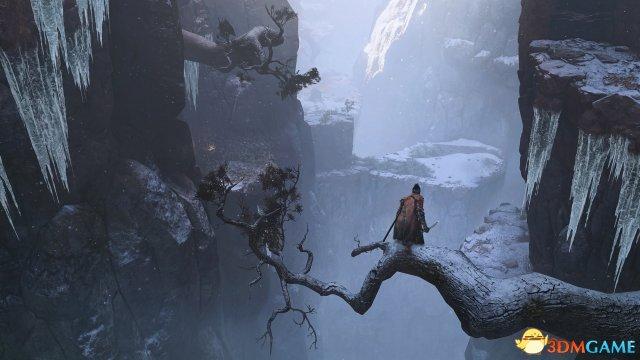 主角可以憑藉著輕盈的身手與鉤繩輔助來越過深谷
