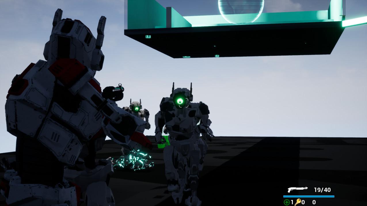 自由机器人:自由网络之战 游戏截图