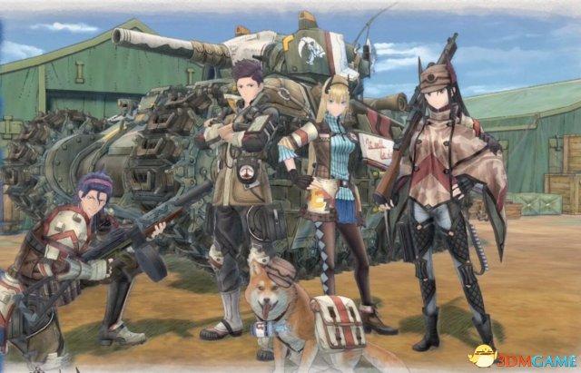《战场女武神4》欧美版发售日 9月25日登陆PC平台