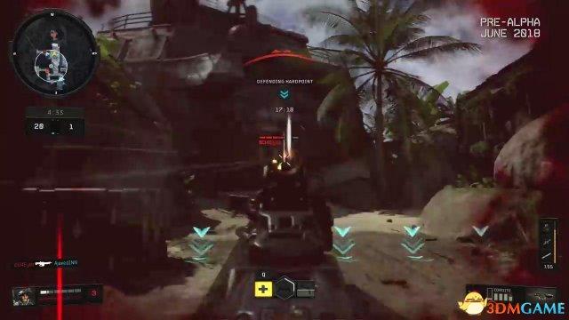 《使命召唤15:黑色行动4》4K实机演示 包含副武器