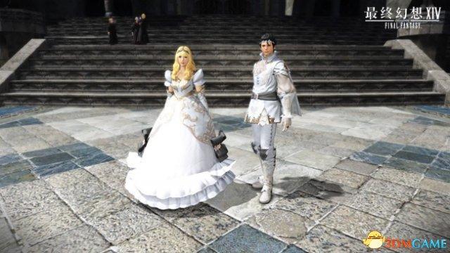 最终幻想14国服公主王子套装6.26开售 宣传视频公布