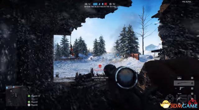 IGN曝《战地5》4K演示 狙击玩法和陆地战刺激