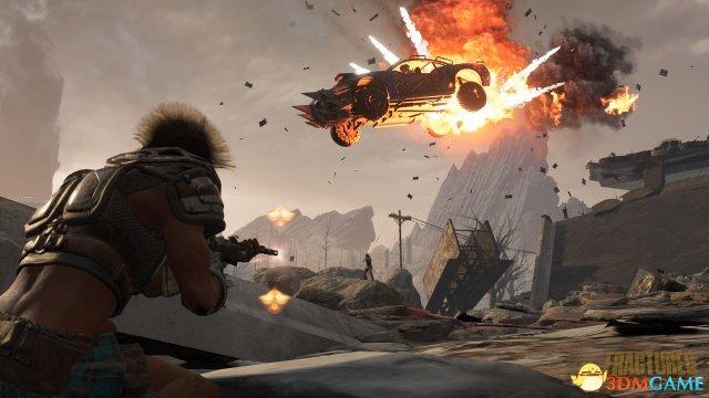 《破碎领地》PC版12分钟演示 大逃杀版疯狂麦克斯