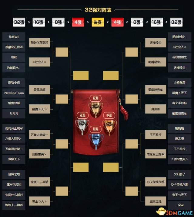 《新天龙》天下会武16强出炉 竞猜赢稀有称号