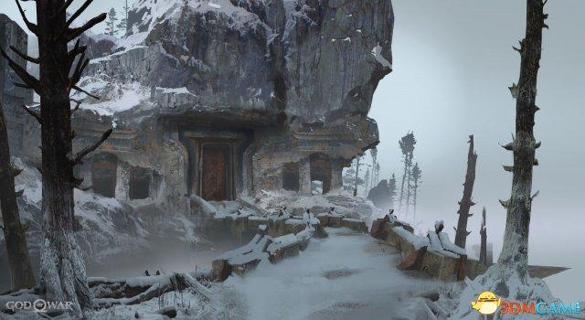 《战神4》大师级概念原画曝光 感受不一样的奎爷