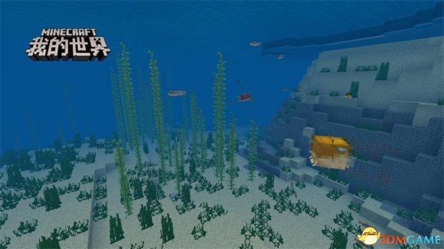 海洋更新即将来袭,与《我的世界》海洋生物共同嬉
