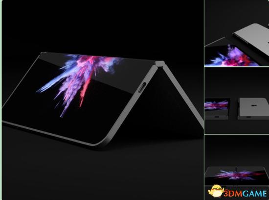 传微软开发口袋型双屏Surface 手机与PC界限模糊