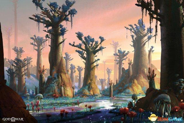 《戰神4》原畫欣賞 這些恐怖敵人在遊戲中未出現