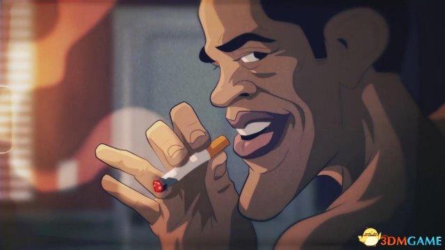 奥巴马加入《功夫鲨鱼:传奇重生》风流倜傥身手棒