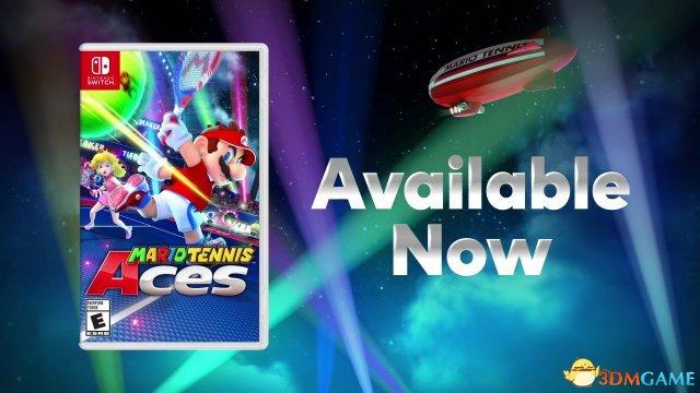 陣容豐富 《馬利奧網球Aces》未來新角色介紹視訊