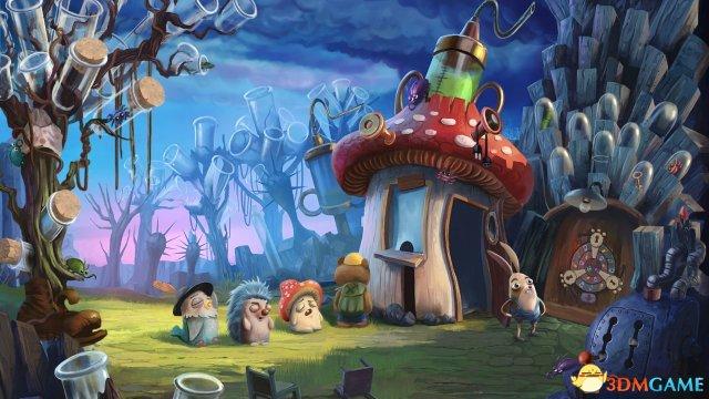 解谜新作《我的哥哥兔》公布 童话世界画风清新
